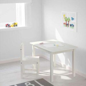 СУНДВИК Детский стул белый - Артикул: 803.661.42