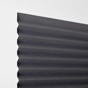 ШОТТИС Жалюзи плиссе, блокирующие свет темно-серый 100x190 см - Артикул: 803.721.19