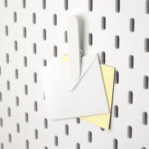 СКОДИС Зажим белый - Артикул: 603.621.02
