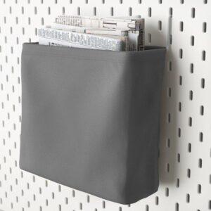 СКОДИС Текстильный контейнер белый/серый - Артикул: 403.621.41