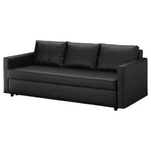 ФРИХЕТЭН 3-местный диван-кровать, Бумстад черный - Артикул: 904.489.01