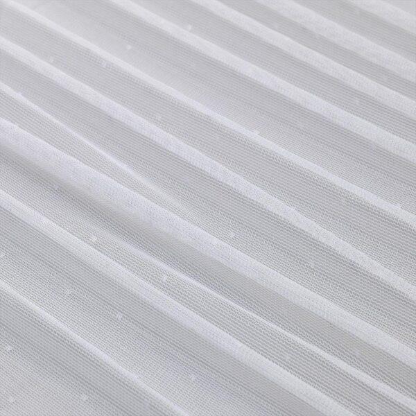 ХИЛЬДРАН Гардины, 2 шт. белый/точечный 145x300 см - Артикул: 703.866.97