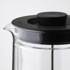 ЭГЕНТЛИГ Кофе-пресс/заварочный чайник двуслойные стенки/прозрачное стекло 0.9 л - Артикул: 703.589.77