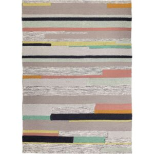 БРЁНДЕН Ковер, короткий ворс ручная работа разноцветный 170x240 см - Артикул: 803.745.66