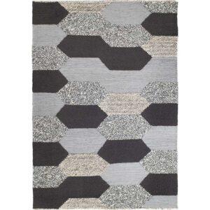 КОЛЛУНД Ковер безворсовый ручная работа серый 170x240 см - Артикул: 603.745.67