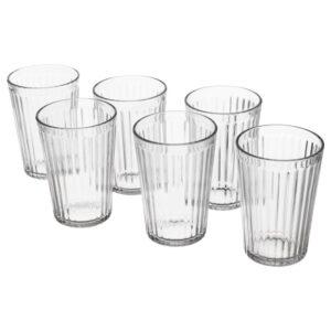 ВАРДАГЕН Стакан прозрачное стекло 31 сл - Артикул: 403.792.74