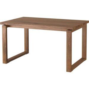 МОРБИЛОНГА Стол дубовый шпон коричневая морилка 140x85 см - Артикул: 903.862.48