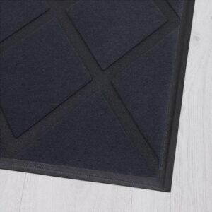 ОКСБИ Придверный коврик серый 60x90 см - Артикул: 604.038.38