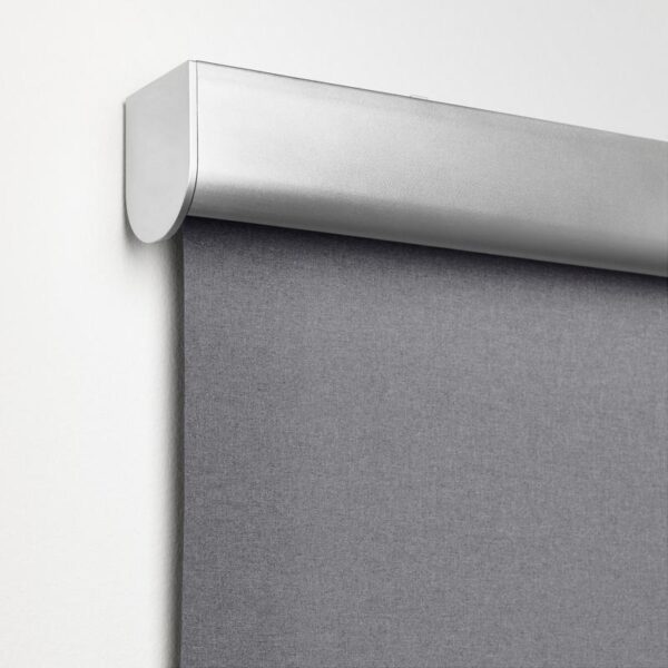 ТРЕТУР Рулонная штора, блокирующая свет светло-серый 60x195 см - Артикул: 703.810.01