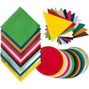 ЛУСТИГТ Бумага для оригами разные цвета/разные формы различные формы - Артикул: 103.853.99