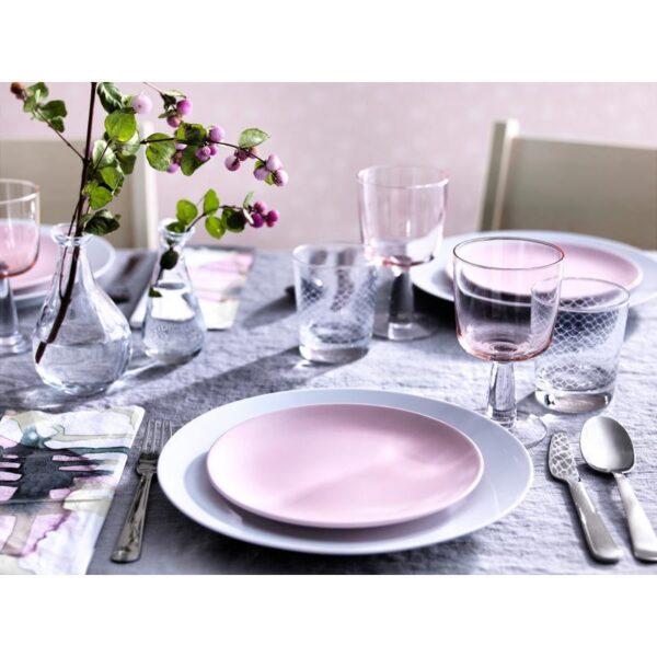 ДИНЕРА Тарелка десертная светло-розовый 20 см - Артикул: 504.114.81