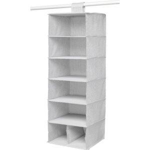 СТУК Модуль для хранения/7 отделений белый/серый 30x30x90 см - Артикул: 703.708.75