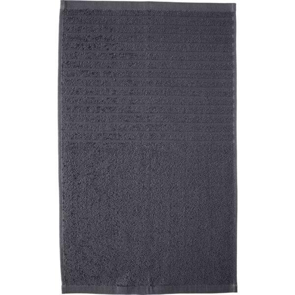 ВОГШЁН Полотенце темно-серый 30x50 см - Артикул: 603.536.16