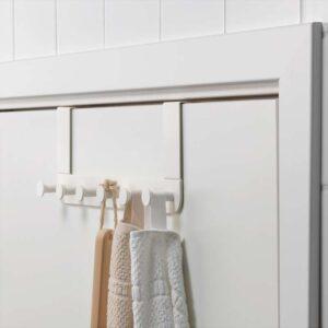 ЭНУДДЭН Дверная вешалка белый - Артикул: 003.689.89