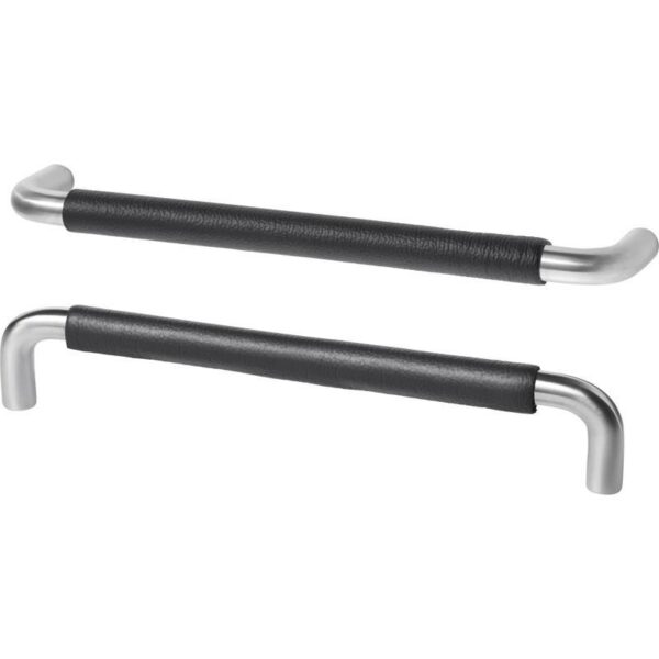 БЬЕРЕД Ручка нержавеющ сталь/черный кожа 175 мм - Артикул: 903.557.89