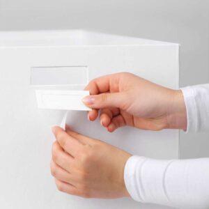 ТЬЕНА Коробка с крышкой белый 35x50x30 см - Артикул: 603.743.55