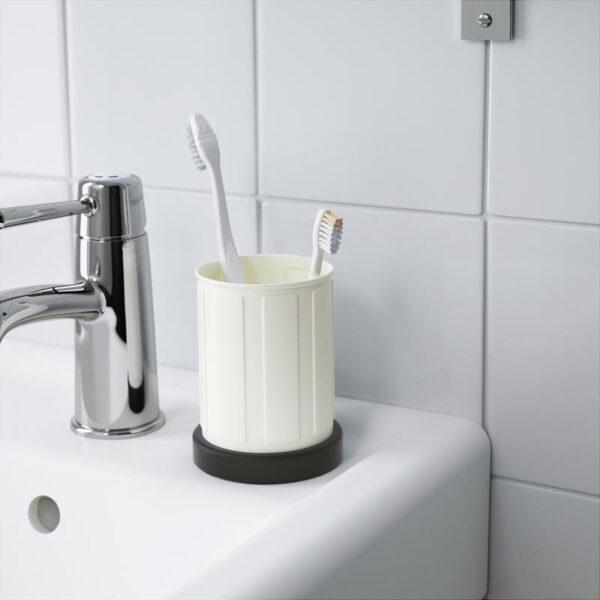 ТОФТАН Держатель д/зубных щеток белый - Артикул: 203.497.92