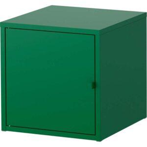 ЛИКСГУЛЬТ Шкаф металлический/темно-зеленый 35x35 см - Артикул: 403.996.63