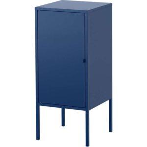 ЛИКСГУЛЬТ Шкаф металлический/темно-синий 35x60 см - Артикул: 903.996.65