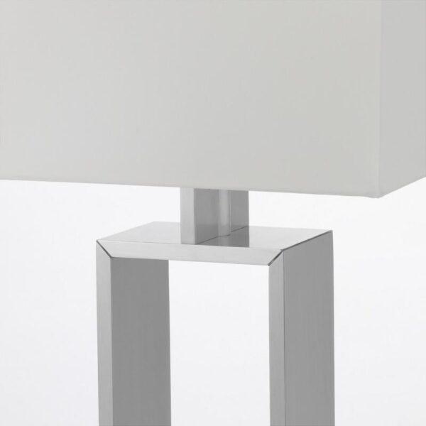 СТИЛТЬЕ Лампа настольная белый с оттенком/цвет алюминия - Артикул: 203.999.04