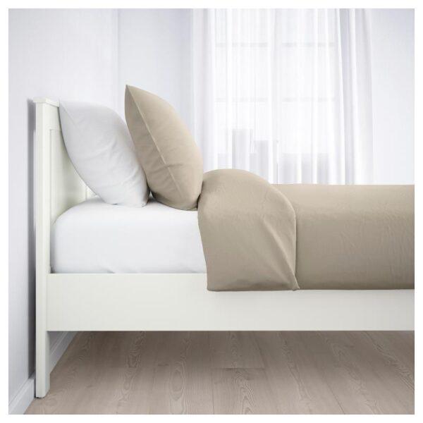 СОНГЕСАНД Каркас кровати, белый 140x200 см. Артикул: 992.412.27