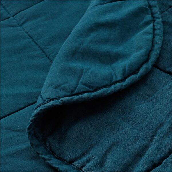 ГУЛЬВЕД Покрывало темно-синий 260x250 см - Артикул: 303.929.21