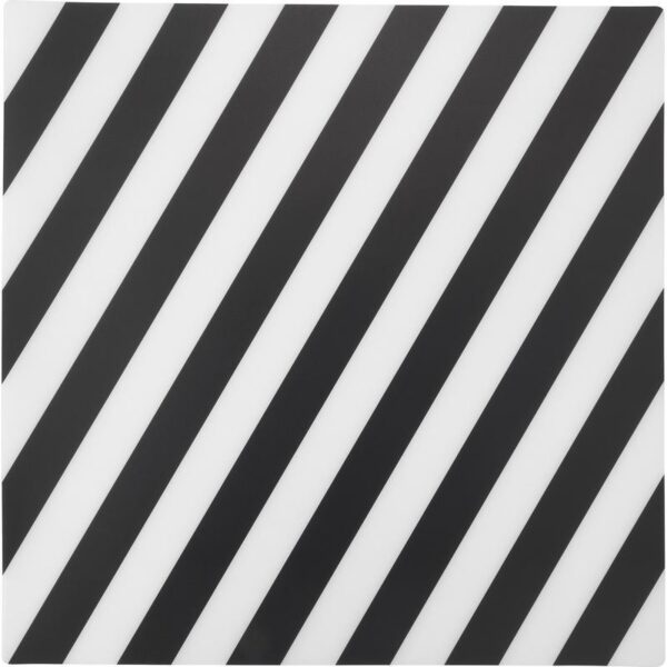 ПИПИГ Салфетка под приборы в полоску/черный/белый 37x37 см - Артикул: 703.741.33
