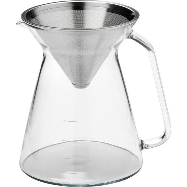 ХОГМОДИГ Кофеварка прозрачное стекло/нержавеющ сталь 0.6 л - Артикул: 503.589.64