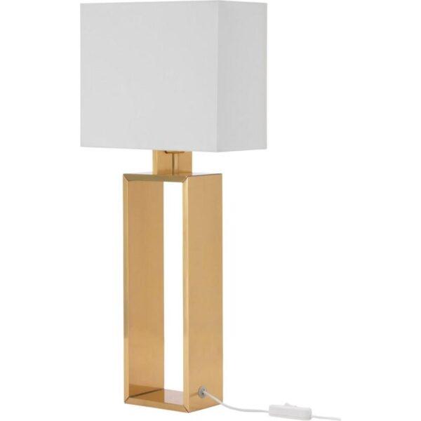 СТИЛТЬЕ Лампа настольная белый с оттенком/желтая медь - Артикул: 903.999.10