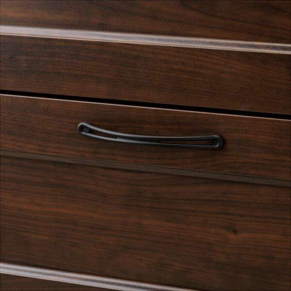 СОНГЕСАНД Комод с 6 ящиками коричневый 82x126 см - Артикул: 003.667.87