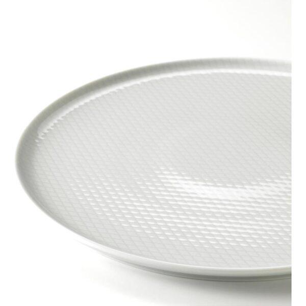 КРУСТАД Тарелка светло-серый 25 см - Артикул: 603.587.32