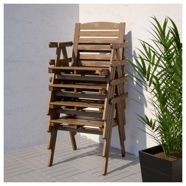 ФАЛЬХОЛЬМЕН Стол+4 кресла, д/сада - Артикул: 892.867.68