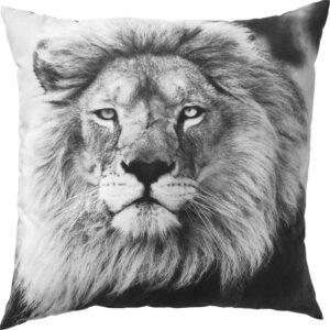 УРСКОГ Подушка лев/серый 50x50 см - Артикул: 203.939.16