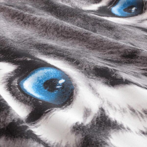 УРСКОГ Пододеяльник и 1 наволочка, тигр/серый 150x200/50x70 см. Артикул: 203.938.55