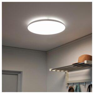 НИМОНЕ Светодиодный потолочный светильник белый - Артикул: 703.620.93