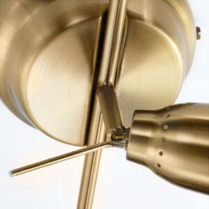 БАРОМЕТР Потолочная шина 5 софитов желтая медь - Артикул: 503.646.39