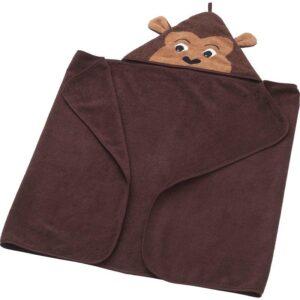 ДЬЮНГЕЛЬСКОГ Полотенце с капюшоном, обезьянка/коричневый 70x140 см. Артикул: 703.938.29