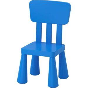 МАММУТ Детский стул синий - 203.653.48