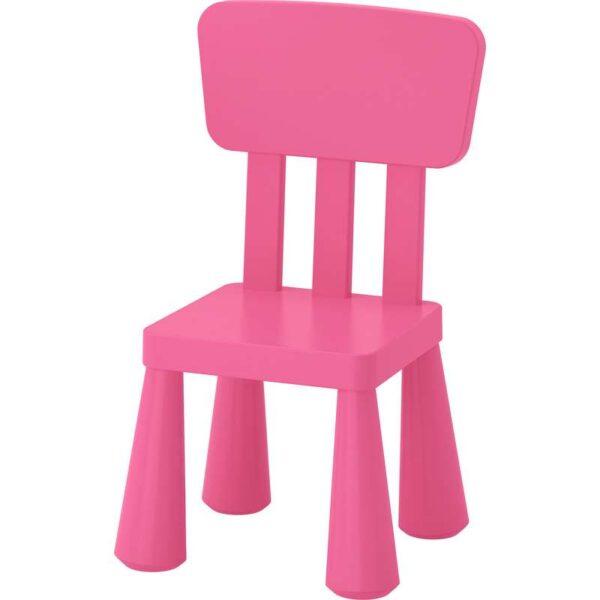 МАММУТ Детский стул розовый - 403.823.23