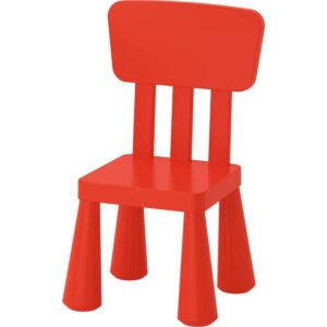 МАММУТ Детский стул красный - 003.653.68