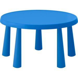 МАММУТ Стол детский синий 85 см - 703.651.81