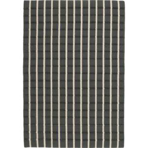 ФОУЛУМ Ковер безворсовый серый/белый 133x195 см - Артикул: 603.820.77