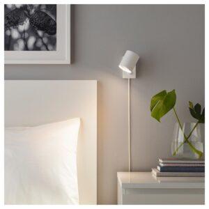 НИМОНЕ Бра/лампа для чтения, белый - Артикул: 003.569.91