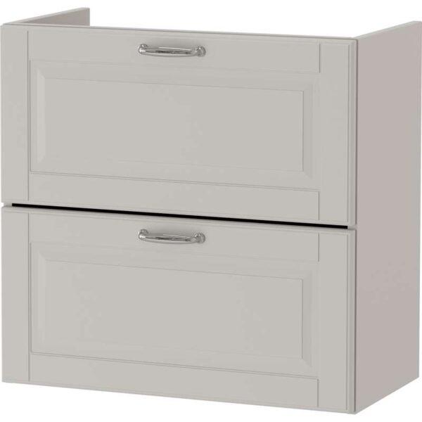 ГОДМОРГОН Шкаф для раковины с 2 ящ Кашён светло-серый 60x32x58 см - Артикул: 303.876.27