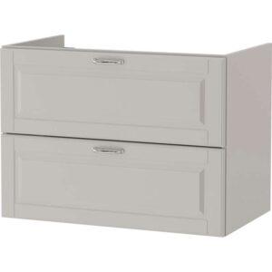 ГОДМОРГОН Шкаф для раковины с 2 ящ Кашён светло-серый 80x47x58 см - Артикул: 303.876.51
