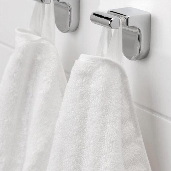ФЛОДАРЕН Банное полотенце белый 70x140 см - Артикул: 003.808.73