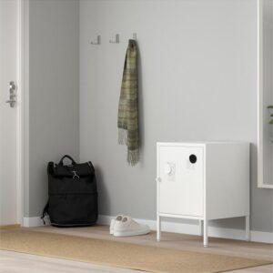 ХЭЛЛАН Комбинация для хранения с дверцами белый 45x47x67 см - Артикул: 492.913.14