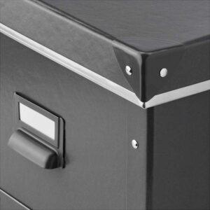 ФЬЕЛЛА Коробка с крышкой, темно-серый - 25x36x20 см > Артикул: 703.956.68