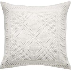 ЛАВФЛЮ Чехол на подушку белый/четырехугольной формы 50x50 см - Артикул: 003.924.23