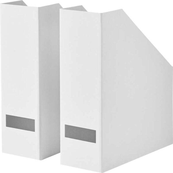 ТЬЕНА Подставка для журналов белый - Артикул: 703.954.18
